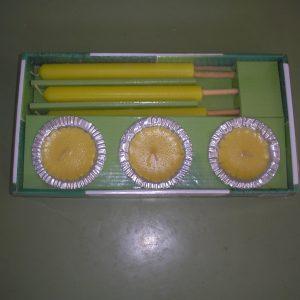 Citronella gyertya szett  6 db-os