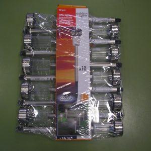 Kerti lámpa SOLAR inox leszúrható  36 cm