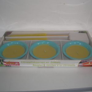 Citronella gyertya szett  5 db-os