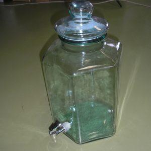 üveg disz 11,5 l hexa